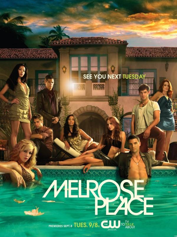 Nuovo poster di Melrose Place, in onda da settembre 2009 sul network CW