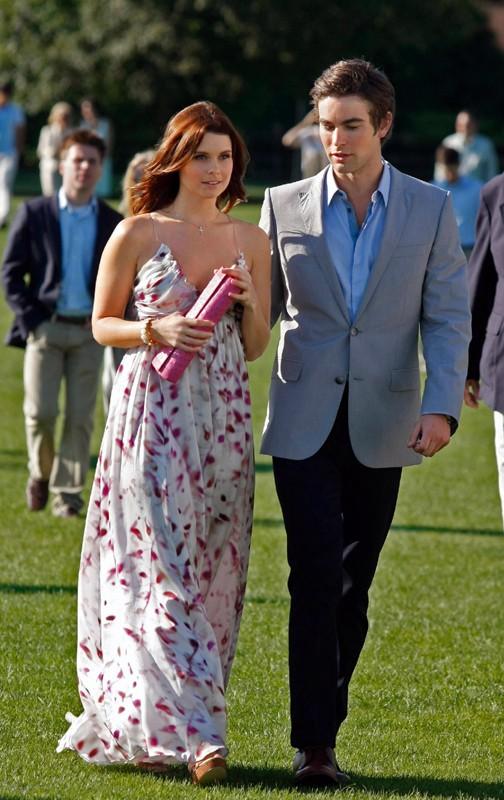 Joanna Garcia (Bree Buckley) insieme a Chace Crawford (Nate Archibald) in una scena dell'episodio Reversals of Fortune di Gossip Girl