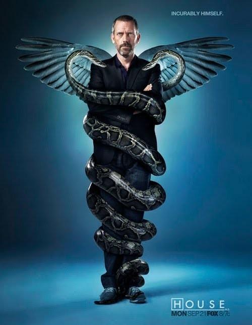 Un poster promozionale della stagione 6 di Dr House