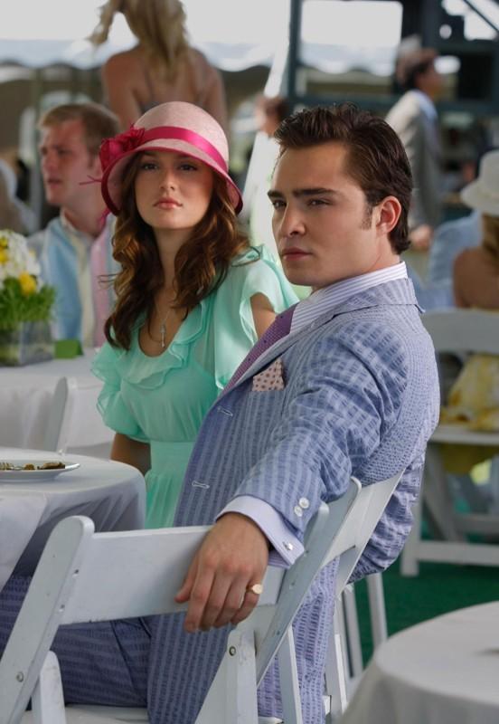 Una delle coppie più amate: Blair (Leighton Meester) e Chuck (Ed Westwick) nell'episodio Reversals of Fortune di Gossip Girl