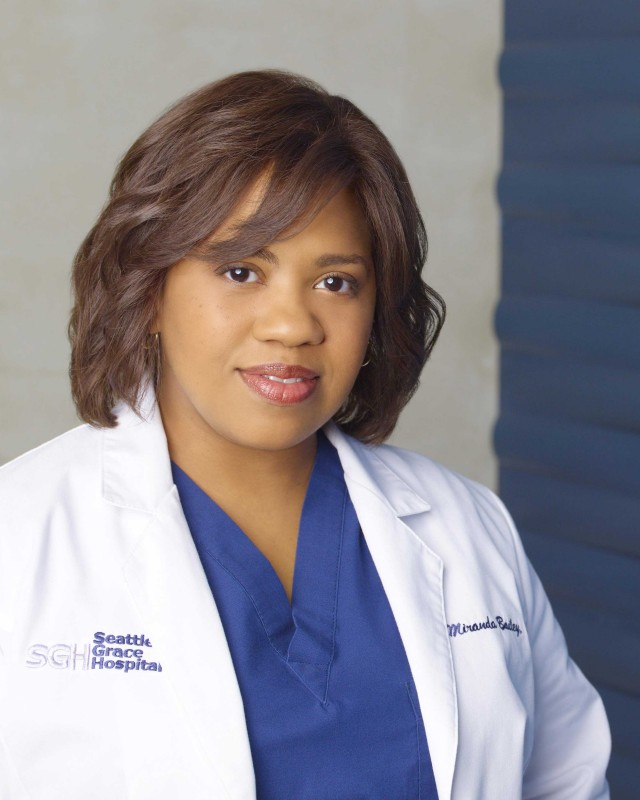 Chandra Wilson, che interpreta Miranda Bailey, in una foto  per la sesta stagione di Grey's Anatomy