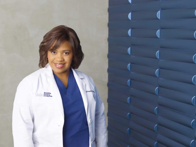 Chandra Wilson in una foto  per la sesta stagione di Grey's Anatomy