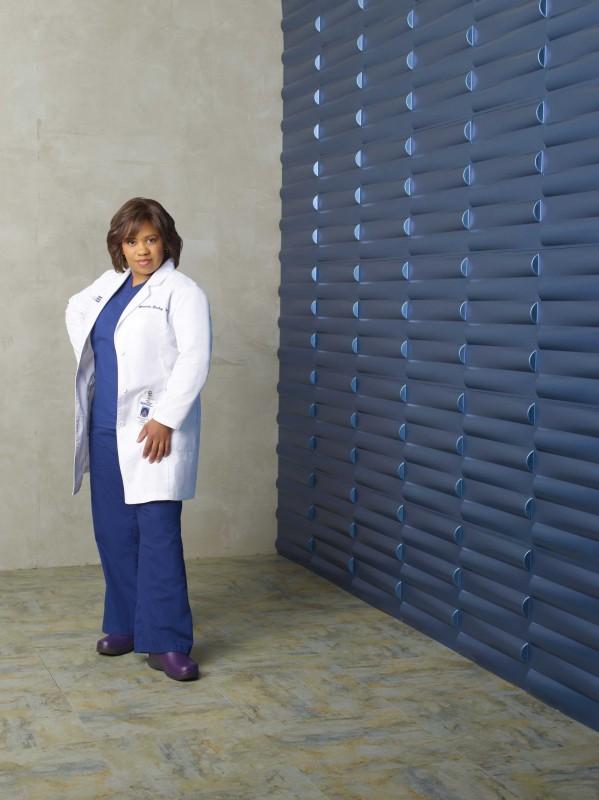 Chandra Wilson in una foto pubblicitaria per la sesta stagione di Grey's Anatomy