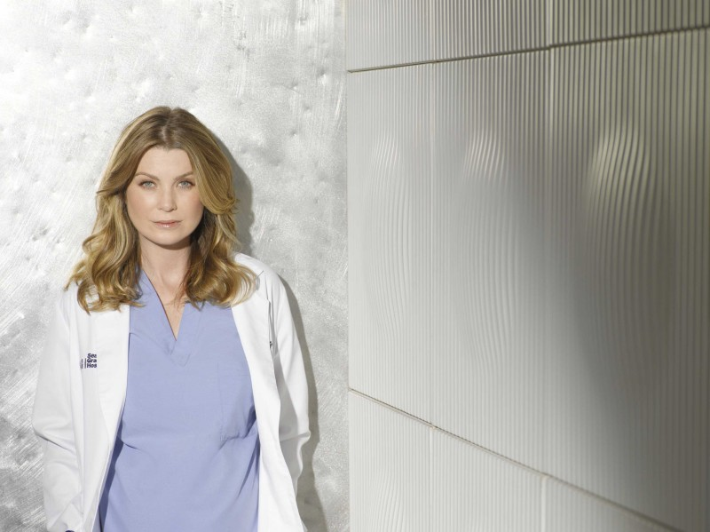 Ellen Pompeo, che interpreta Meredith Grey,  per la sesta stagione della serie tv  Grey's Anatomy