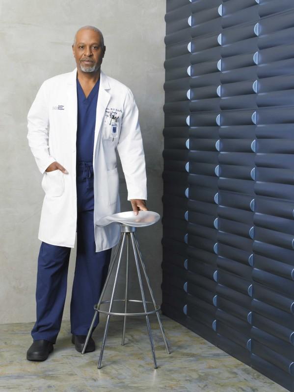 James Pickens Jr. interpreta il dottor Webber per la sesta stagione della serie tv  Grey's Anatomy