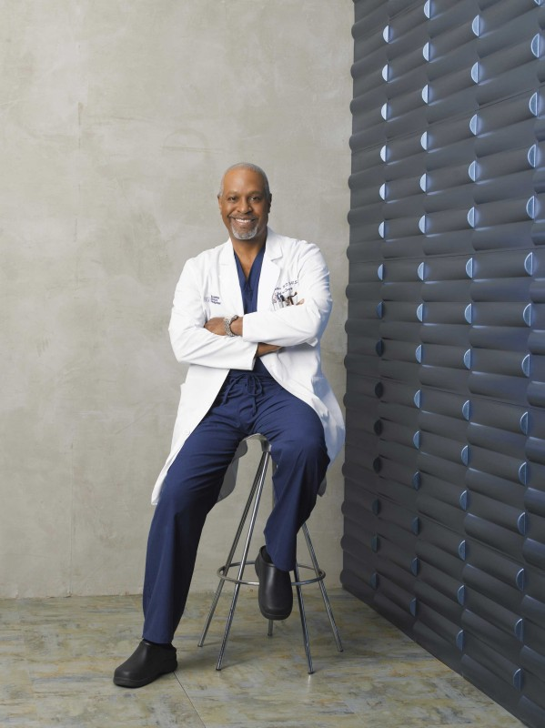 James Pickens Jr. per la sesta stagione della serie tv  Grey's Anatomy