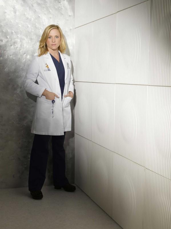 Jessica Capshaw in una foto per la sesta stagione di Grey's Anatomy
