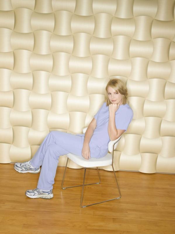 Katherine Heigl in posa per la campagna per la sesta stagione di Grey's Anatomy