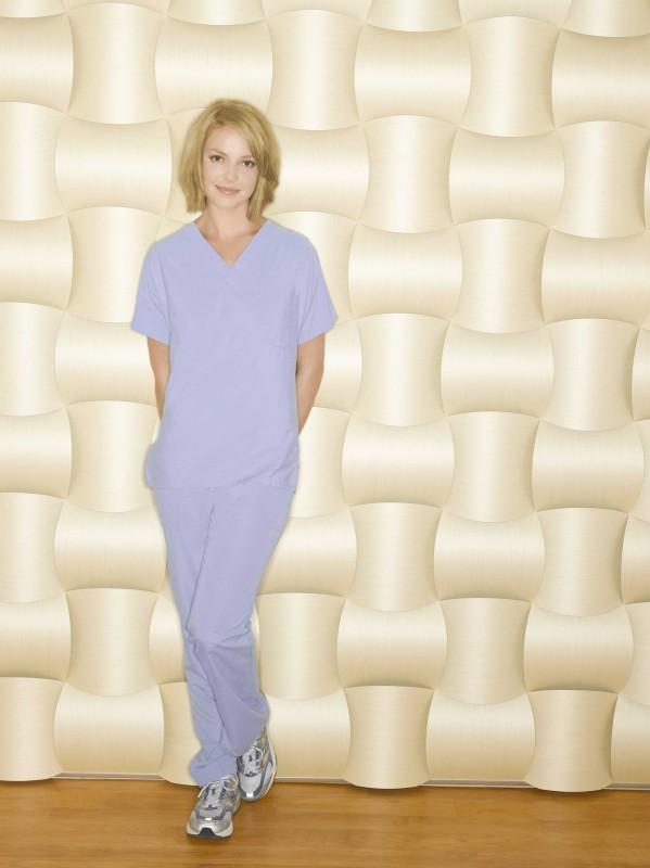 Katherine Heigl  posa per la campagna promozionale della sesta stagione di Grey's Anatomy