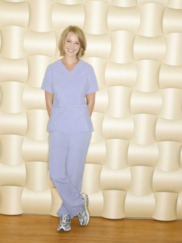 La splendida Katherine Heigl  per la sesta stagione di Grey's Anatomy