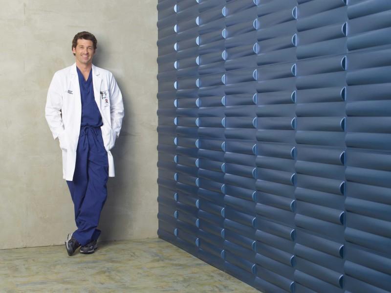 Patrick Dempsey in un'immagine per la sesta stagione di Grey's Anatomy