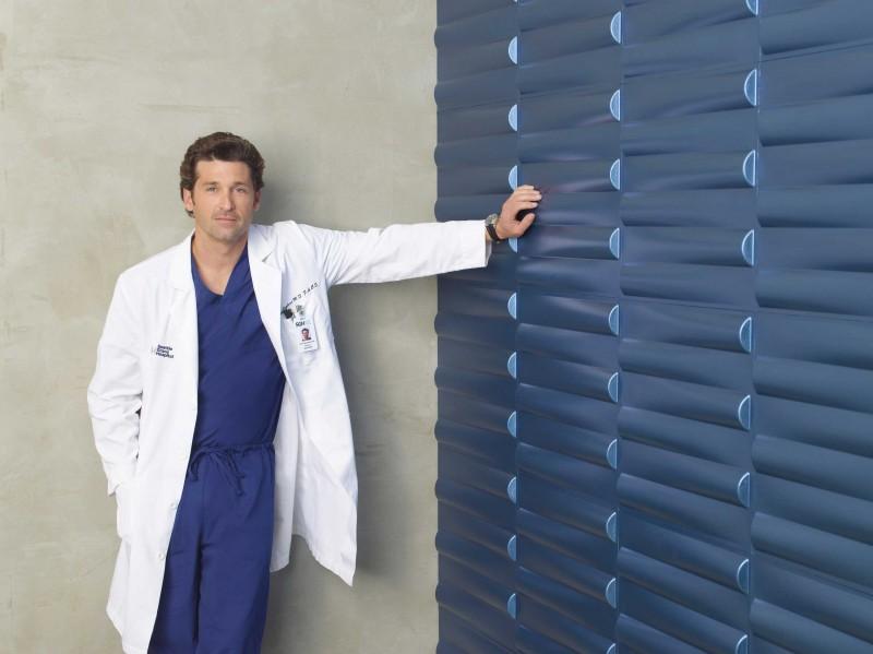 Patrick Dempsey posa per la campagna pubblicitaria della sesta stagione di Grey's Anatomy