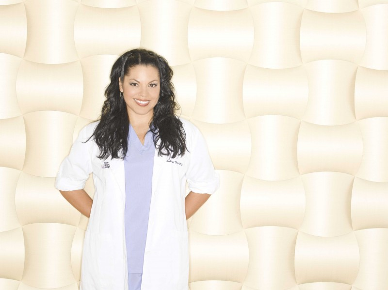 Sara Ramirez posa  per la sesta stagione di Grey's Anatomy