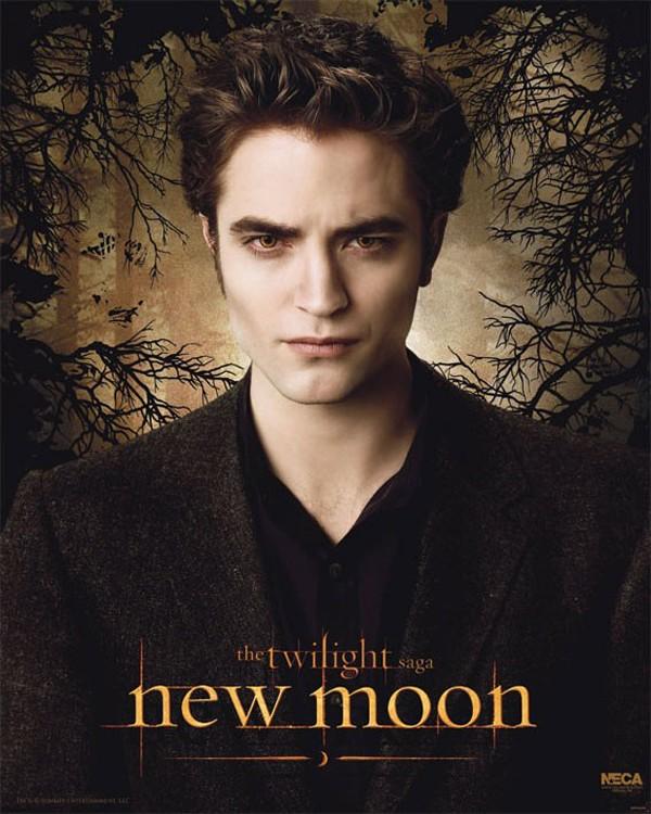 Un character poster dedicato a Edward (Robert Pattinson) per il film Twilight: New Moon
