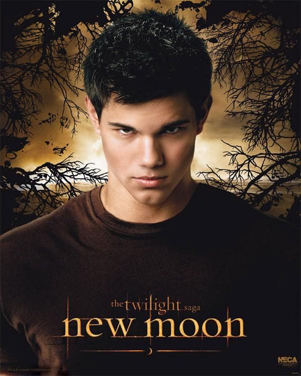 Un character poster dedicato a Jacob (Taylor Lautner) per il film Twilight Saga: New Moon