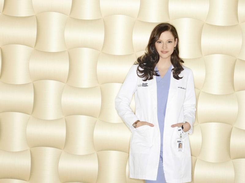 Un'immagine di Chyler Leigh  per la sesta stagione della serie tv  Grey's Anatomy