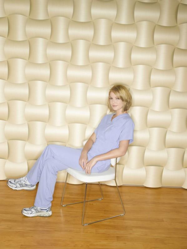 Un'immagine di Katherine Heigl  per la sesta stagione della serie tv  Grey's Anatomy