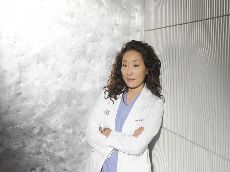 Un'immagine di Sandra Oh  per la sesta stagione della serie tv  Grey's Anatomy