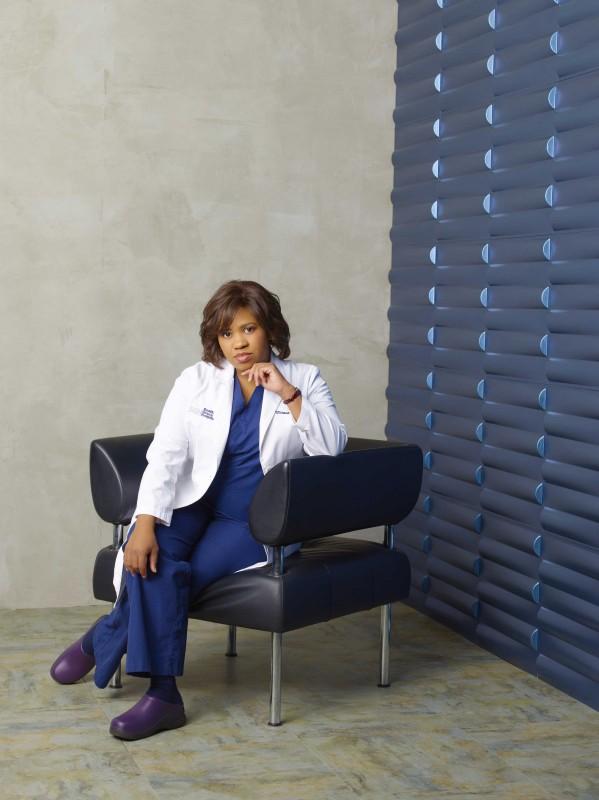 Un'immagine promozionale di Chandra Wilson per la sesta stagione di Grey's Anatomy
