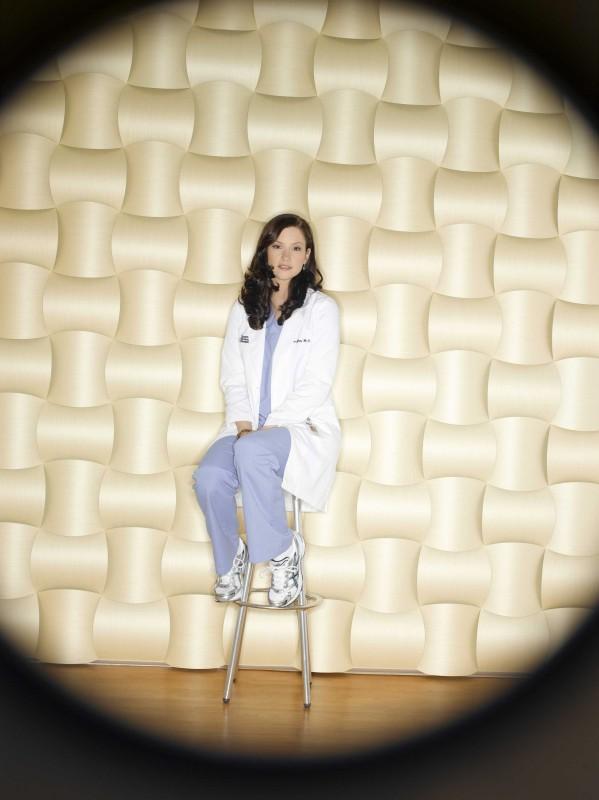 Un'immagine promozionale di Chyler Leigh  per la sesta stagione della serie  Grey's Anatomy