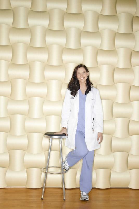 Un'immagine promozionale di Chyler Leigh  per la sesta stagione della serie tv  Grey's Anatomy