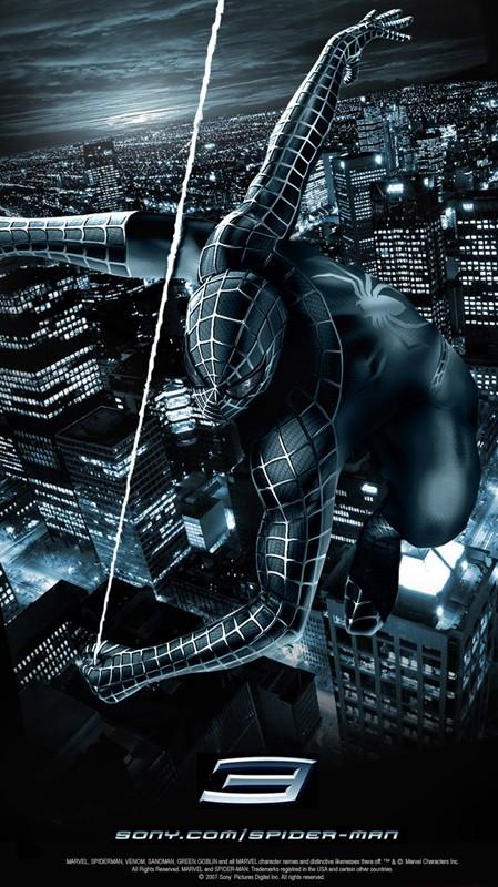 Un poster del film Spider-Man 3