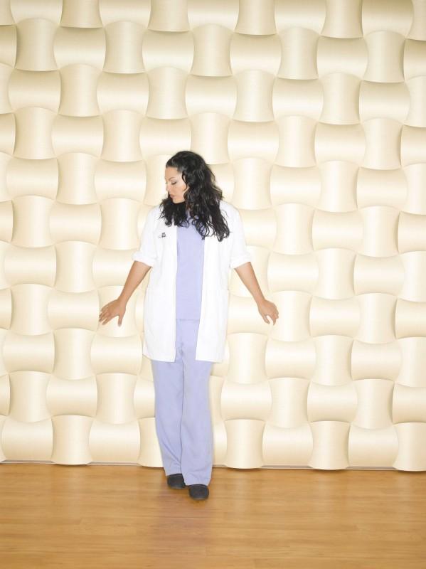 Una foto della bella Sara Ramirez per la sesta stagione di Grey's Anatomy