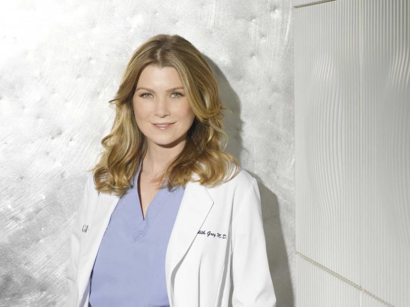 Una foto di Ellen Pompeo  per la sesta stagione della serie tv  Grey's Anatomy