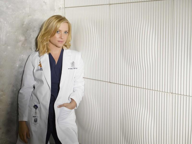 Una foto di Jessica Capshaw per la sesta stagione di Grey's Anatomy