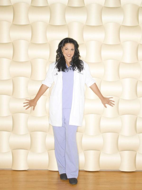 Una foto di Sara Ramirez per la sesta stagione di Grey's Anatomy