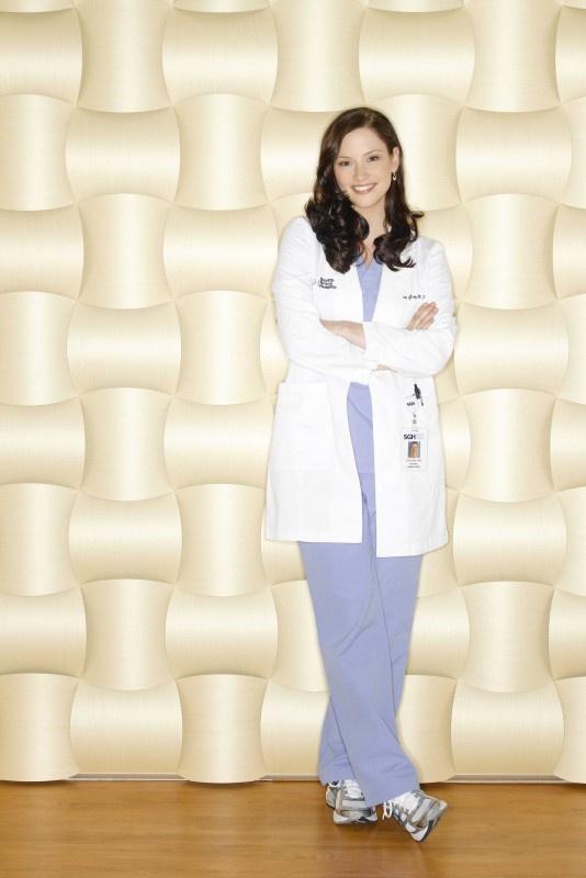 Una foto promozionale di Chyler Leigh, che interpreta Lexie Grey,  per la sesta stagione della serie tv  Grey's Anatomy