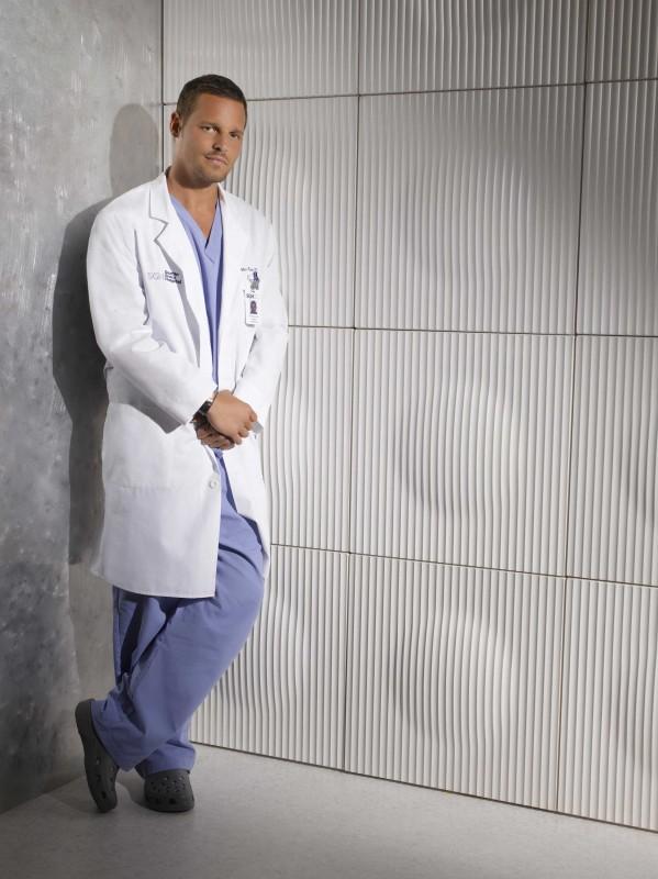 Una foto promozionale di Justin Chambers per la sesta stagione di Grey's Anatomy