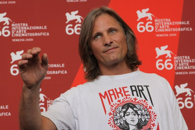 Venezia 2009: un bel primo piano di Viggo Mortense, star di The Road