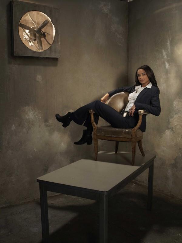 Rochelle Aytes in uno scatto promozionale della serie The Forgotten