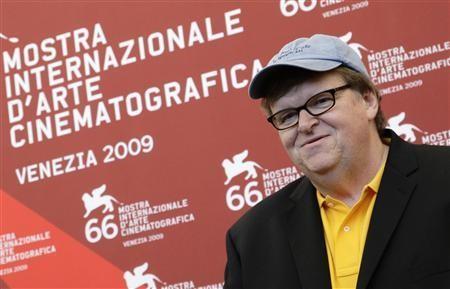 Venezia 2009: Michael Moore presenta il suo documentario, Capitalism - A Love Story.