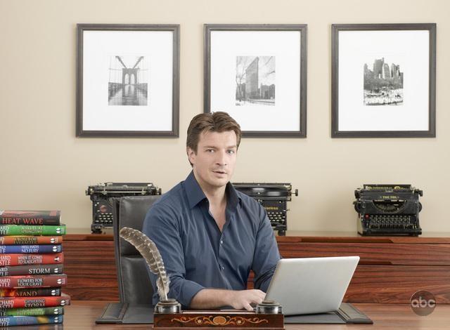Nathan Fillion per la seconda stagione di Castle