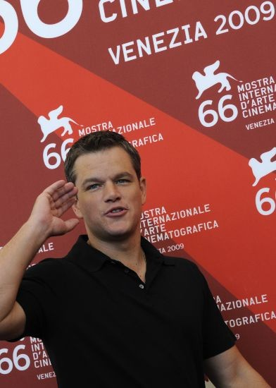 66 Mostra del Cinema di Venezia: Matt Damon presenta The Informant! alla stampa