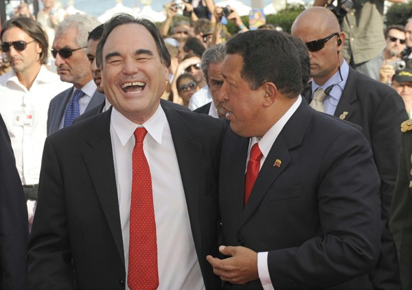 66esima Mostra del Cinema di Venezia: Hugo Chavez con Oliver Stone per presentare il documentario South of The Border