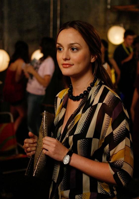Blair Waldorf (Leighton Meester) in una scena dell'episodio The Freshman di Gossip Girl