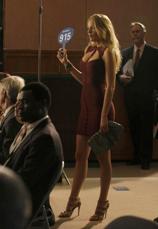 L'affascinante Blake Lively in una scena dell'episodio The Lost Boy di Gossip Girl, season 3