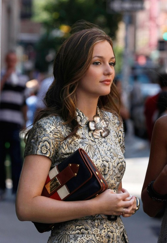 La bella Blair Waldorf (Leighton Meester) nell'episodio Reversals of Fortune di Gossip Girl
