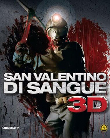 La copertina di San Valentino di sangue 3D (blu-ray)