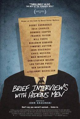 La locandina di Brief Interviews with Hideous Men