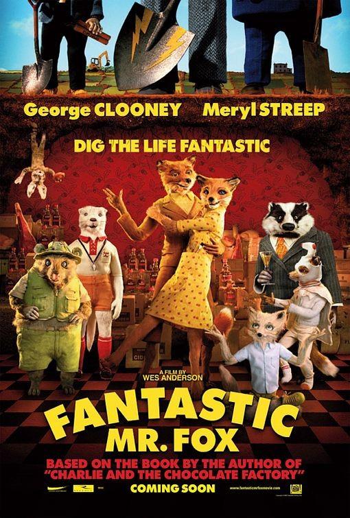 La locandina di The Fantastic Mr. Fox
