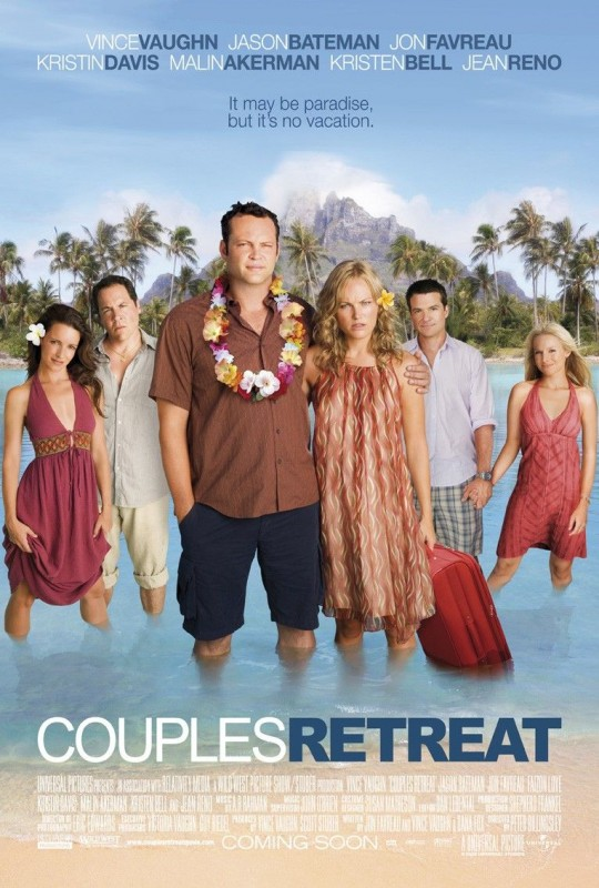 Un poster di Couples Retreat