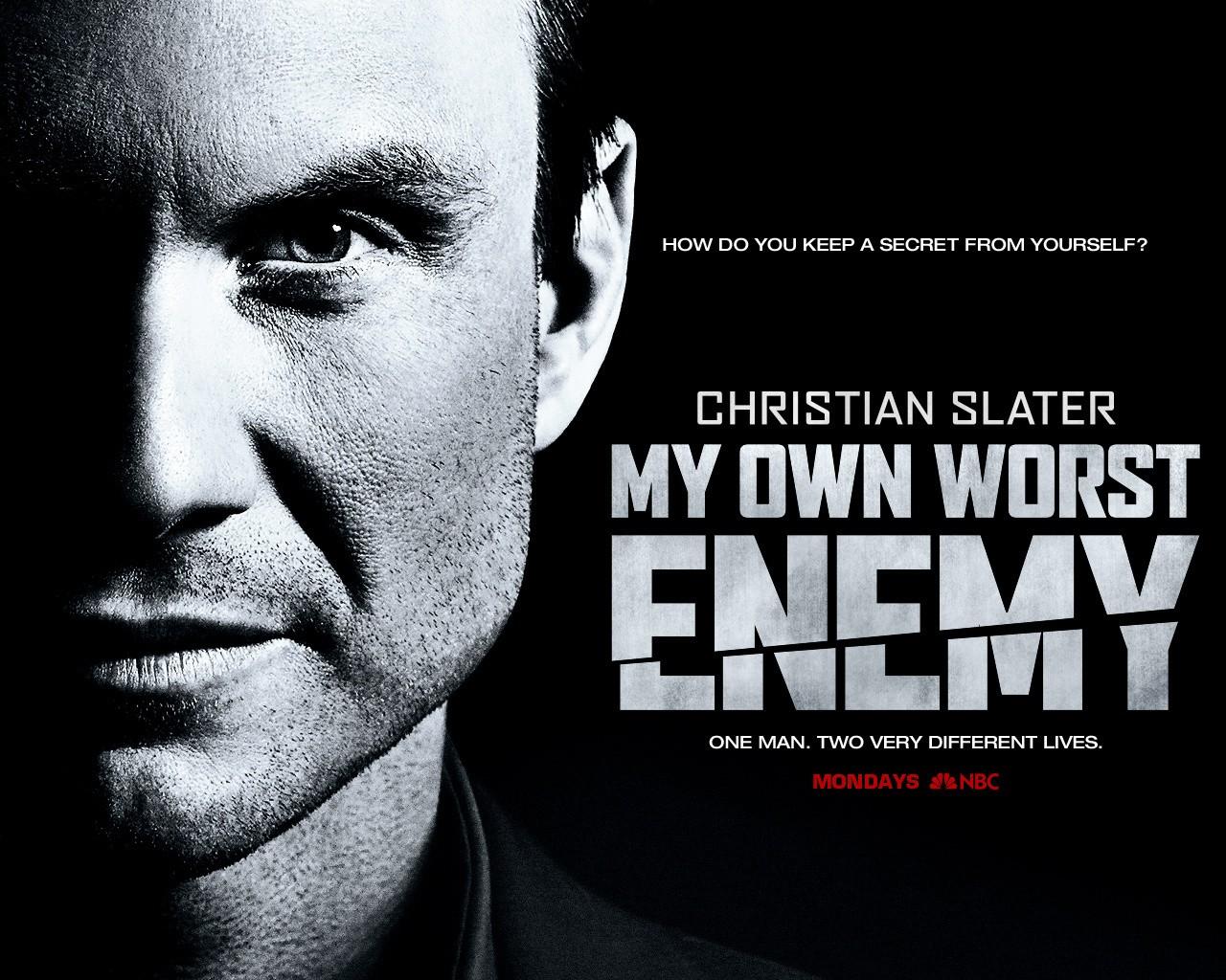 Un wallpaper della serie My Own Worst Enemy