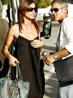 Venezia 2009: George Clooney accanto a Elisabetta Canalis