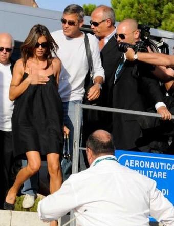 Venezia 2009: la coppia più chiacchierata della 66esima edizione: George Clooney e Elisabetta Canalis