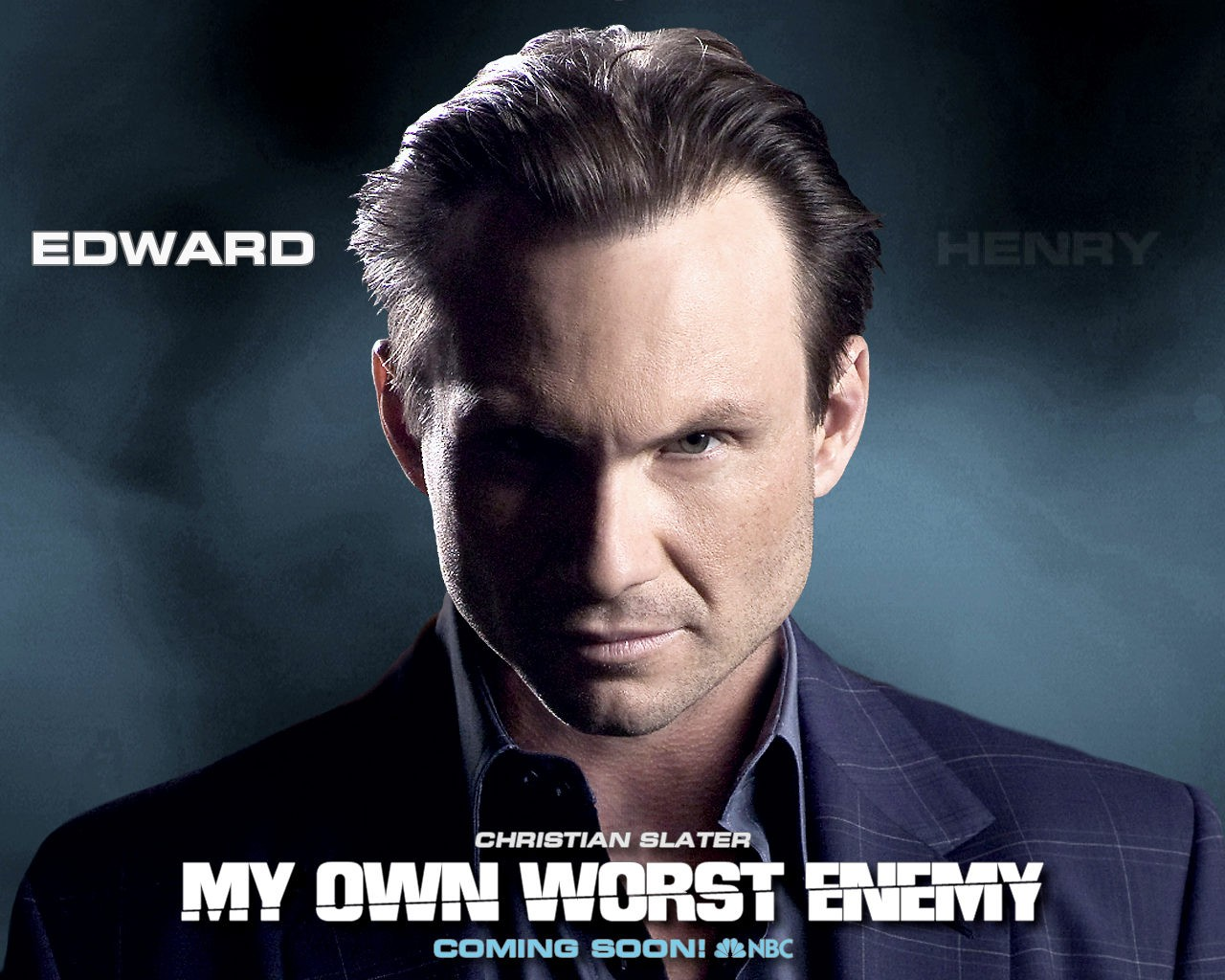 Wallpaper della serie My Own Worst Enemy, con Christian Slater