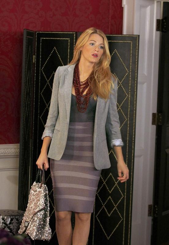 Blake Lively è un'elegante Serena nell'episodio Dan de Fleurette di Gossip Girl